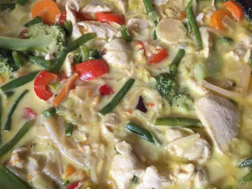 Hähnchen-Gemüse-Curry von cvowkrkg   Hochgeladen von: cvowkrkg