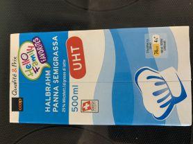 Coop Halbrahm 25% Milchfett PAST, Rahm | Hochgeladen von: cyrson674
