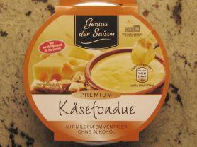 Käsefondue, milder Emmentaler   Hochgeladen von: Heidi