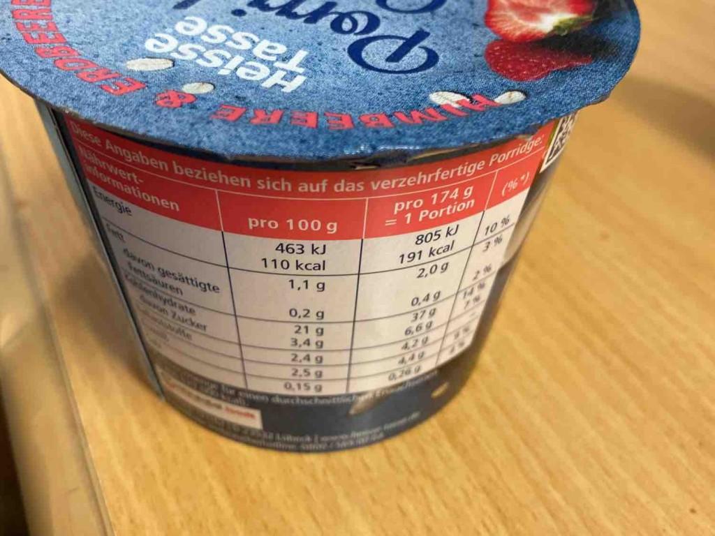 Porridge Glück, Himbeere & Erdbeere von BananajoeXXL   Hochgeladen von: BananajoeXXL