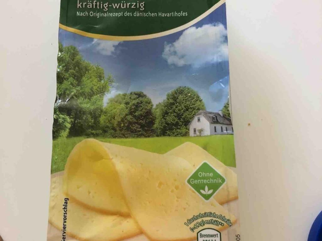 Dänischer Schnittkäse, Havarti, kräftig würzig von larsbln   Hochgeladen von: larsbln