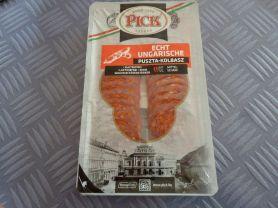 Echt Ungarische Puszta-Kolbasz, geschnitten, Schwein   Hochgeladen von: Dunja11