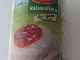 Bio Back Reiswaffeln, ohne Salz | Hochgeladen von: UlmerSpatz