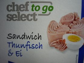 Sandwich, Thunfisch & Ei (Chef Select to go) | Hochgeladen von: pedro42