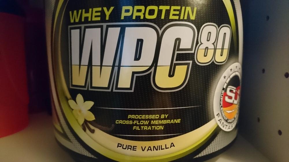 Whey Protein WPC-80, Vanille von mfischer695   Hochgeladen von: mfischer695