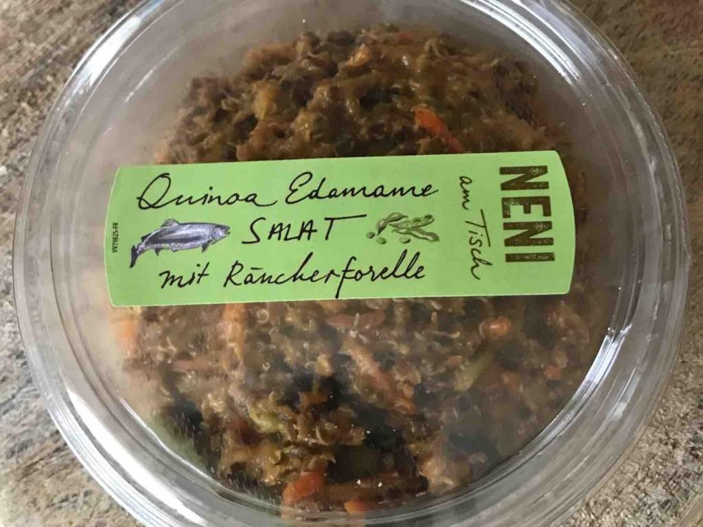 Quinoa Edamame Salat mit Räucherforelle von mickeywiese | Hochgeladen von: mickeywiese