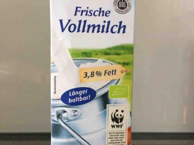 Vollmilch, frisch, länger haltbar, 3,8% Fett von BoBe   Hochgeladen von: BoBe