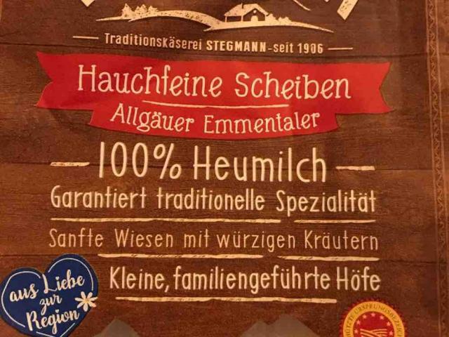 Original Allgäuer Emmentaler, Emmentaler von risete1992   Hochgeladen von: risete1992