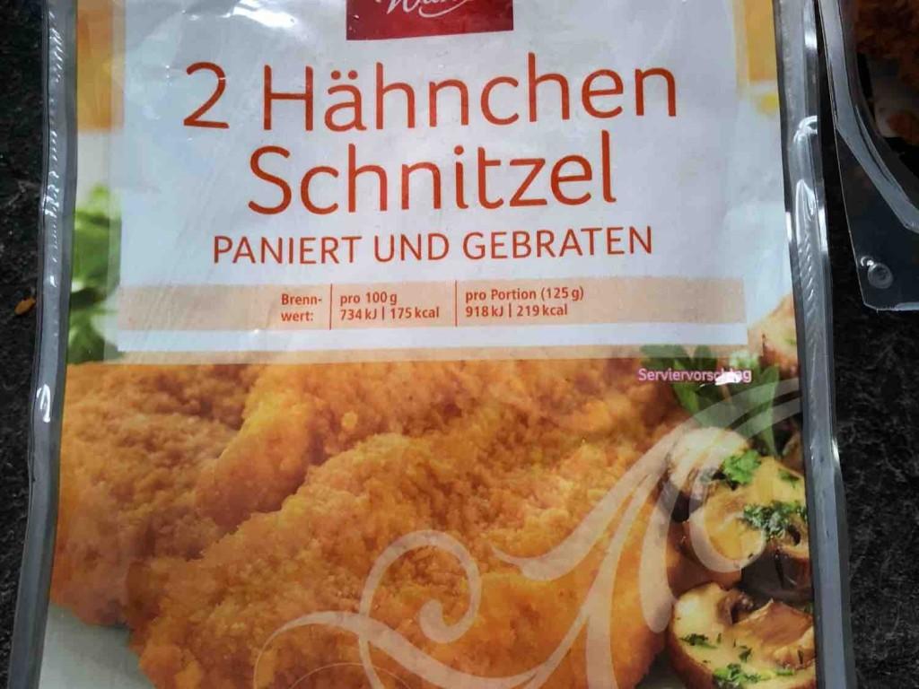 schnitzel kcal