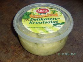 Delikatess-Krautsalat, mit schwarzem Pfeffer und Paprika   Hochgeladen von: PeggySue2509