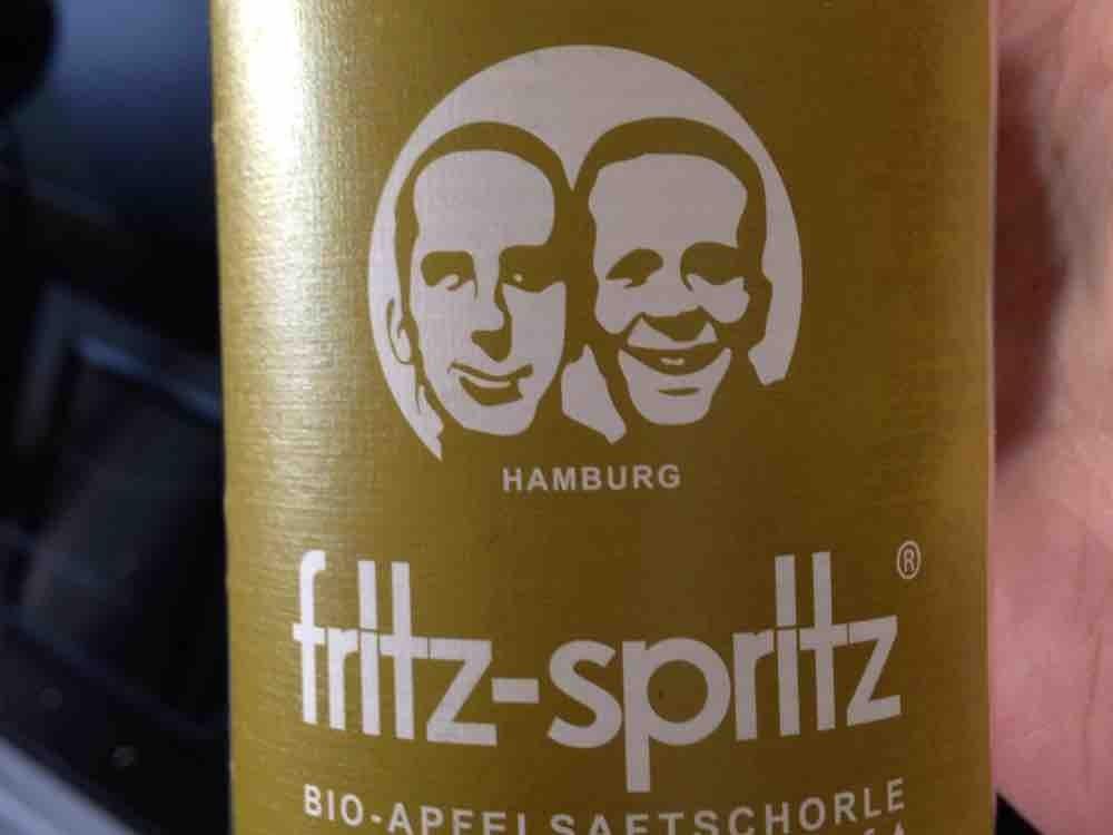 Fritz Kola, fritz-spritz Apfelschorle, Apfel aus Direktsaft Kalorien ...