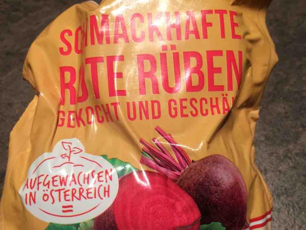 Rote Rüben gekocht und geschält von missdeeh | Hochgeladen von: missdeeh