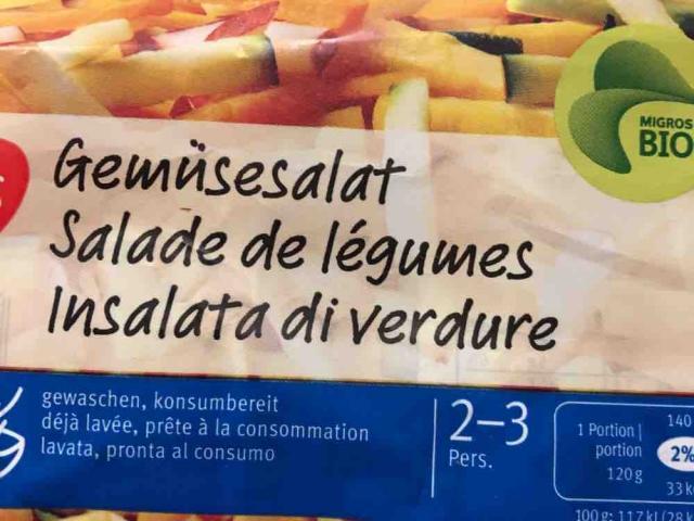 Bio Gemüsesalat von susannewirz266   Hochgeladen von: susannewirz266