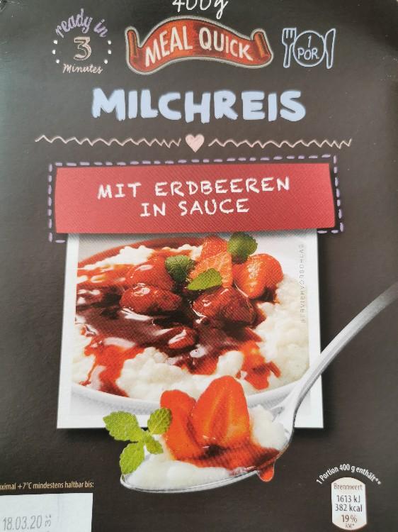 Milchreis, mit Erdbeeren in Sauce von Lilly2903 | Hochgeladen von: Lilly2903