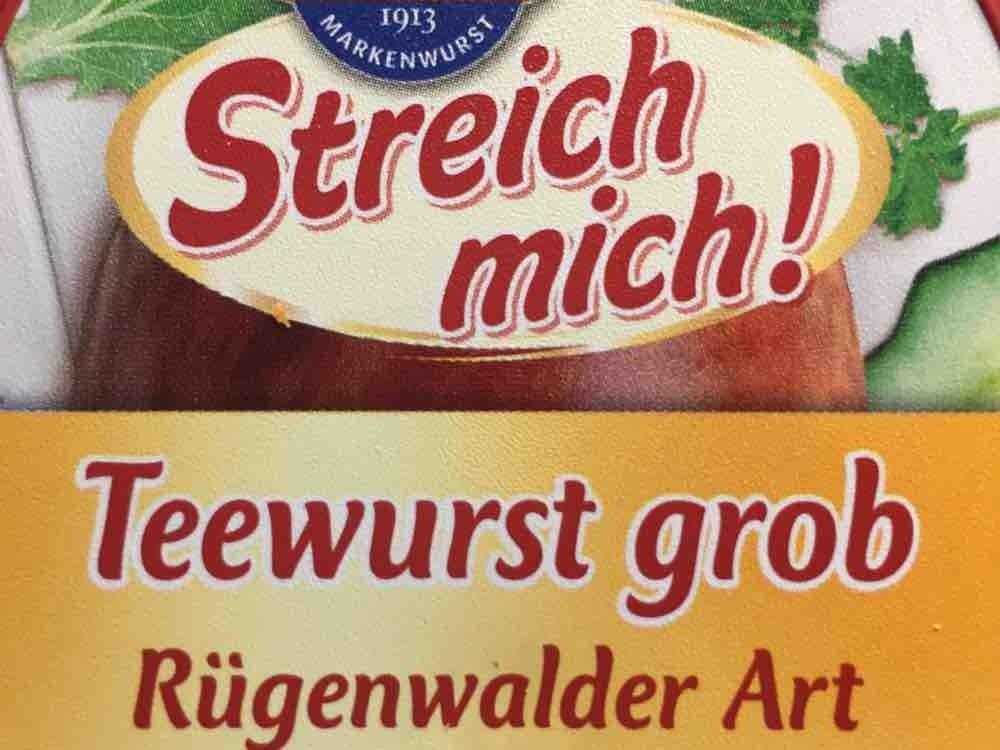Teewurst grob , Rügenwälder Art von s15evo363 | Hochgeladen von: s15evo363