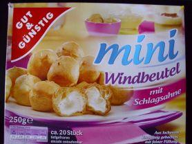 Gut Gunstig Mini Windbeutel Kalorien Kuchen Torten Fddb