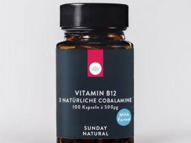 Vitamin B12 3 Natürliche Cobalamine 500mcg   Hochgeladen von: kilowax350
