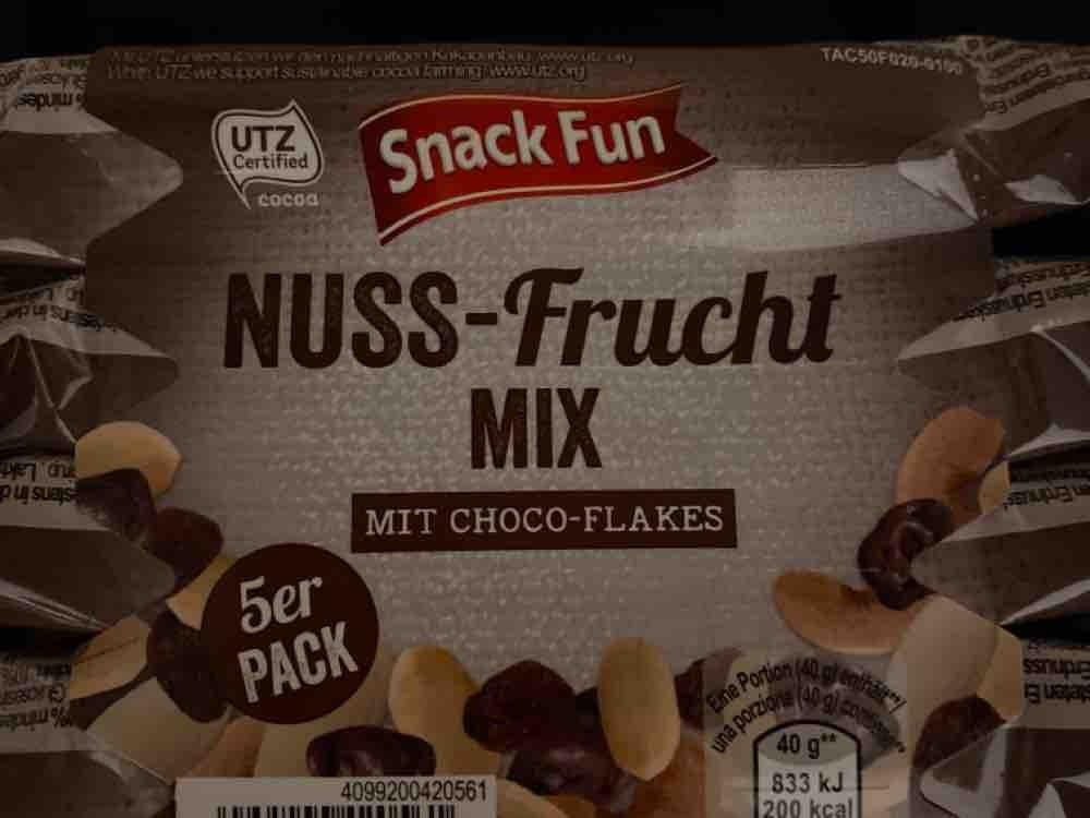 Nuss-Frucht Mix, mit Choco-Flakes von LadyWolverine   Hochgeladen von: LadyWolverine