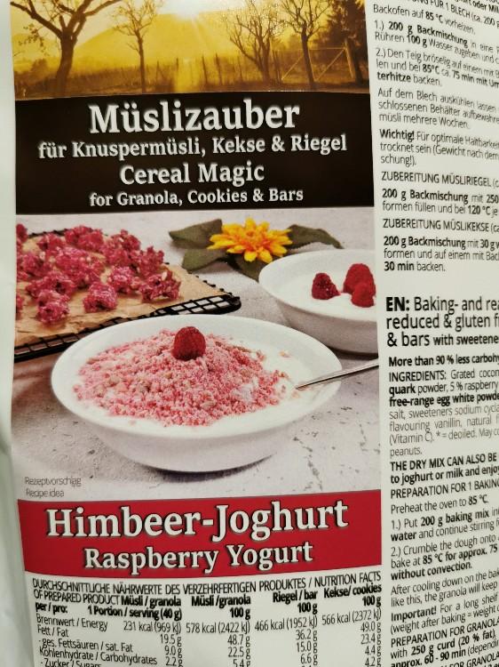 Müslizauber Himbeer Joghurt von sternenkind1964 | Hochgeladen von: sternenkind1964