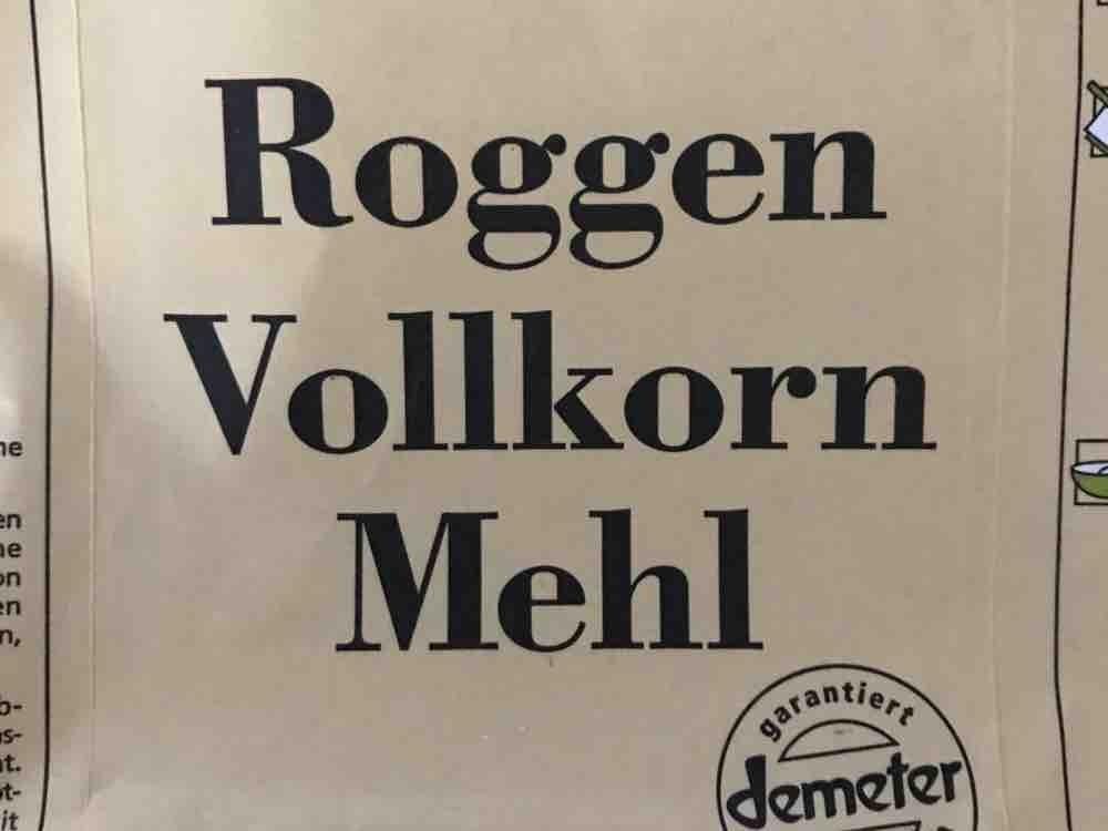Roggen Vollkorn Mehl von tinka | Hochgeladen von: tinka