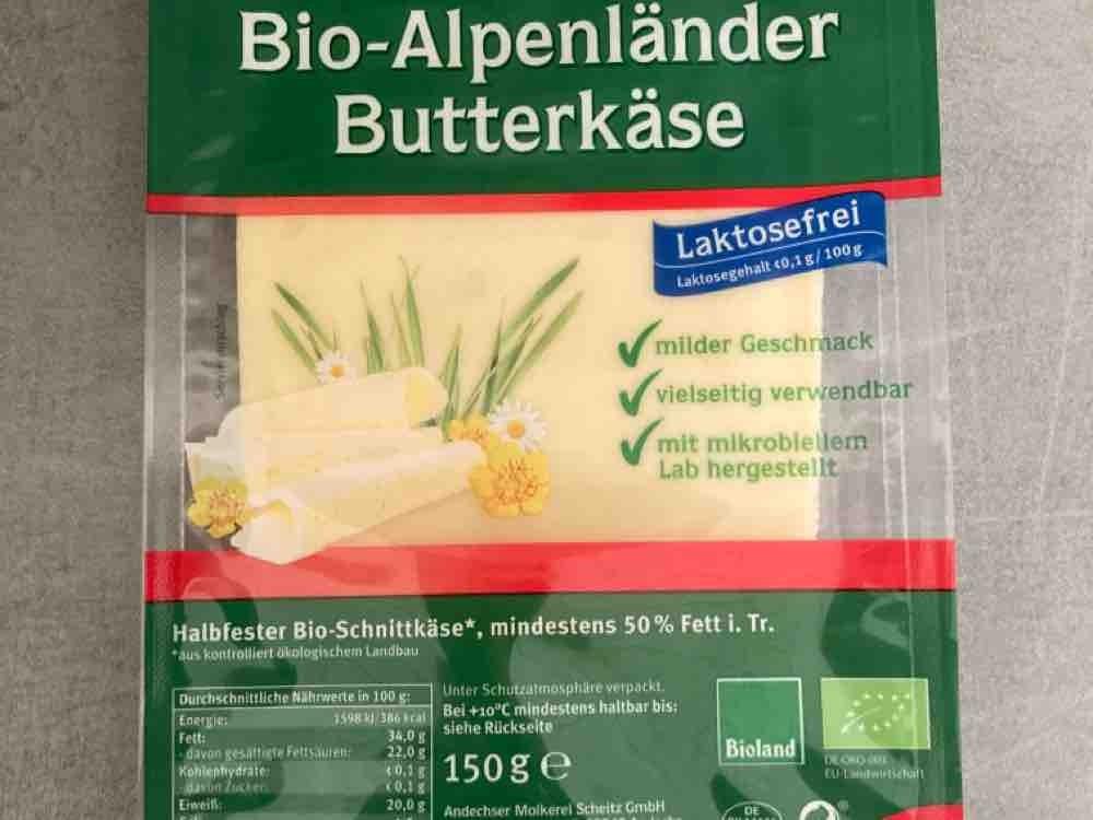 Bio-Alpenländer Butterkäse, Halbfester Schnittkäse von HerrMannsson   Hochgeladen von: HerrMannsson