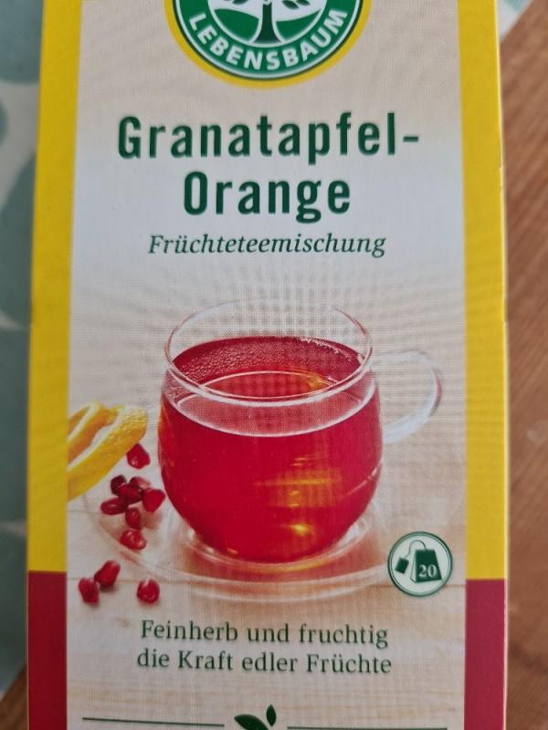 Granatapfel-Orange Früchtetee, feinherb, fruchtig von Terlinito | Hochgeladen von: Terlinito