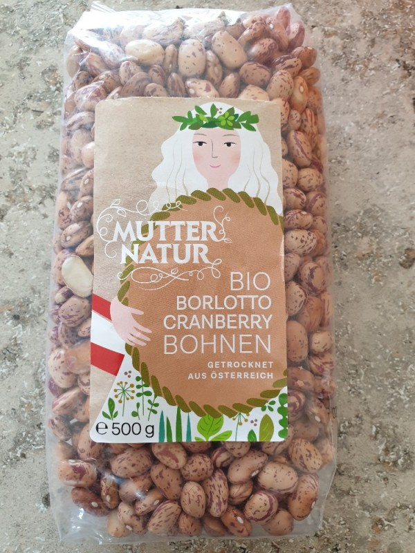Bio Borlotto Cranberry Bohnen, getrocknet von sweetstar20   Hochgeladen von: sweetstar20