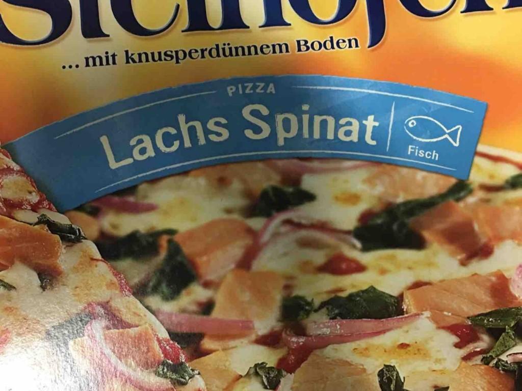 Steinofen Pizza, Lachs Spinat von bruenger | Hochgeladen von: bruenger