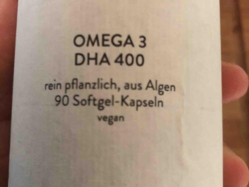 Omega 3 DHA 400, rein pflanzlich, aus Algen von ramonalindenau   Hochgeladen von: ramonalindenau