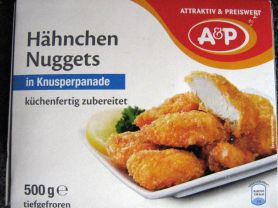 Hähnchen Nuggets, in Knusperpanade | Hochgeladen von: malufi89