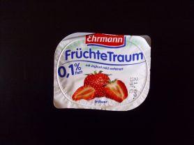 Ehrmann Früchte Traum 0,1% Fett, Erdbeere | Hochgeladen von: Pummelfee71
