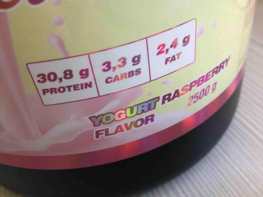 Whey Delicious Yogurt Rasperry Flavour, Protein Pulver von Cxris | Hochgeladen von: Cxris