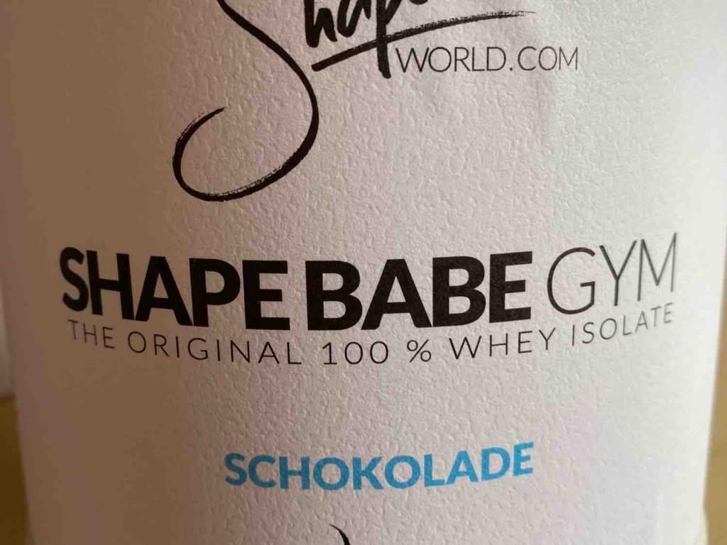 Shape Babe Gym (Schoko) von vako5501   Hochgeladen von: vako5501
