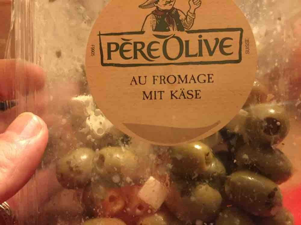 grüne Oliven mit Käse  von ennoho | Hochgeladen von: ennoho