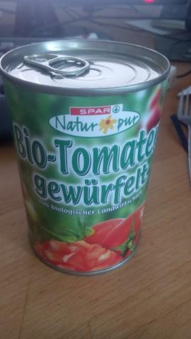 Bio-Tomaten gewürfelt | Hochgeladen von: Holleemma