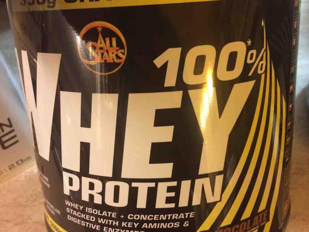 Whey Protein 100% Chocolate von DonRWetter | Hochgeladen von: DonRWetter
