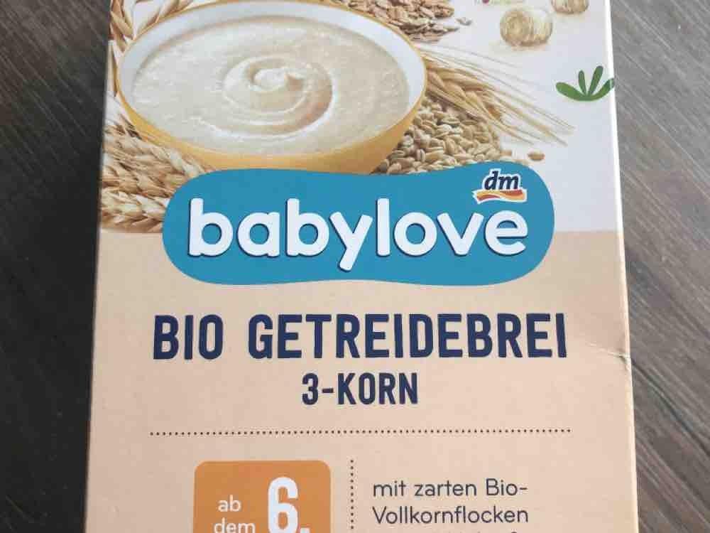 Bio Getreidebrei 3-Korn, mit zarten Bio-Vollkornflocken von Helena2016   Hochgeladen von: Helena2016