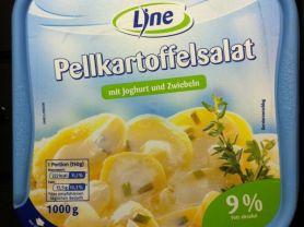 Pellkartoffelsalat, mit Joghurt und Zwiebeln | Hochgeladen von: lachsack2001