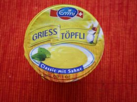 Griess Töpfli, Classic mit Sahne | Hochgeladen von: LovePeaceFashion