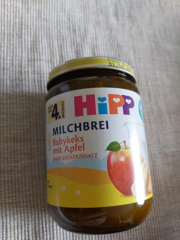 HIPP Milchbrei, Babykeks mit Apfel von TaSi | Hochgeladen von: TaSi