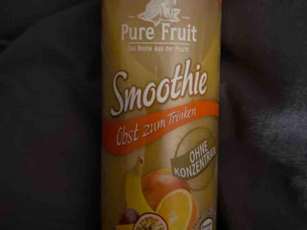Pure Fruit Smoothie, Banane-Mango-Orange-Maracuja von Janin9490   Hochgeladen von: Janin9490