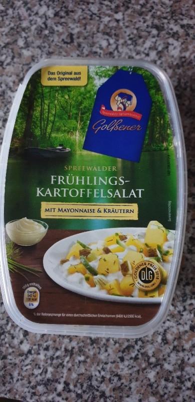 Frühlings-Kartoffelsalat, mit Majo  von mapelka56200 | Hochgeladen von: mapelka56200