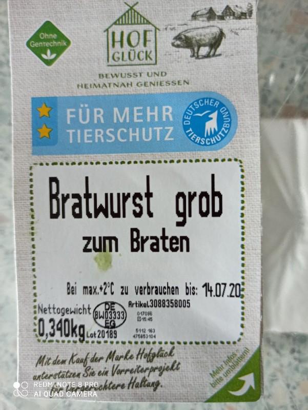 Bratwurst grob von ramonamanuela   Hochgeladen von: ramonamanuela