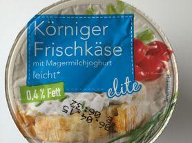 Körniger Frischkäse mit fettarmen Joghurt, 0,4% Fett absolut   Hochgeladen von: LutzR