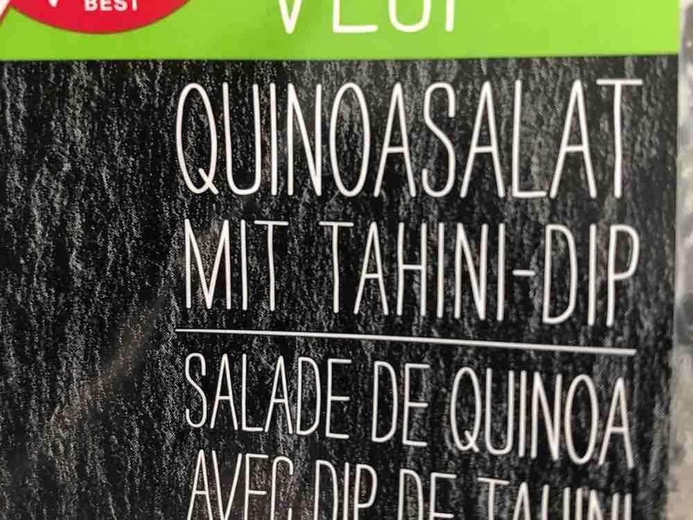 Quinoasalat mit Tahini-Dip, Salat von siby353 | Hochgeladen von: siby353