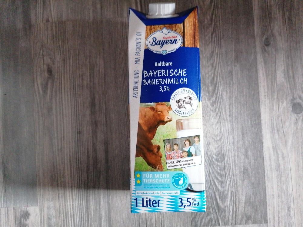 Haltbare Bayerische Bauernmilch, Milch von MoonlightBCDA   Hochgeladen von: MoonlightBCDA