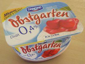 Danone, Obstgarten 0,4% Kirsche | Hochgeladen von: Teecreme