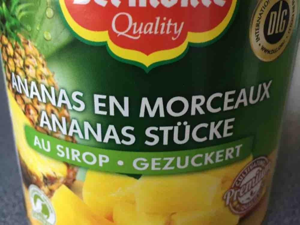 Ananas Scheiben, gezuckert von Grauer | Hochgeladen von: Grauer