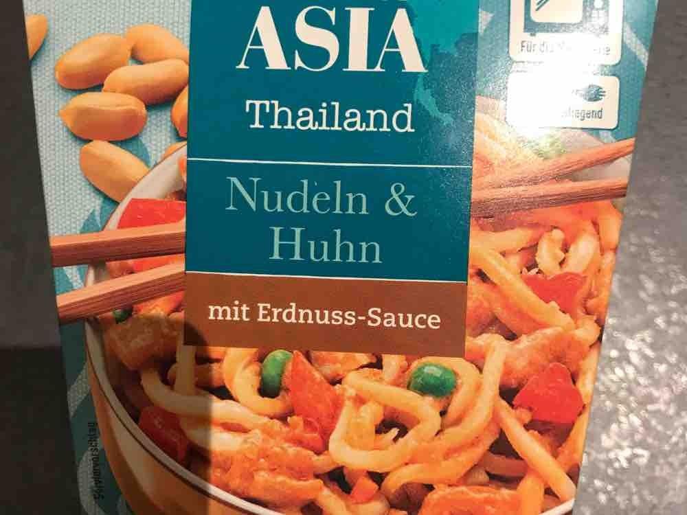 Nudeln & Huhn mit Erdnuss-Sauce von LutzR | Hochgeladen von: LutzR
