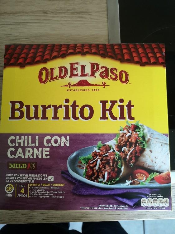Burrito Kit Chili con Carne, Makros pro Tortilla von tkurz1993849   Hochgeladen von: tkurz1993849